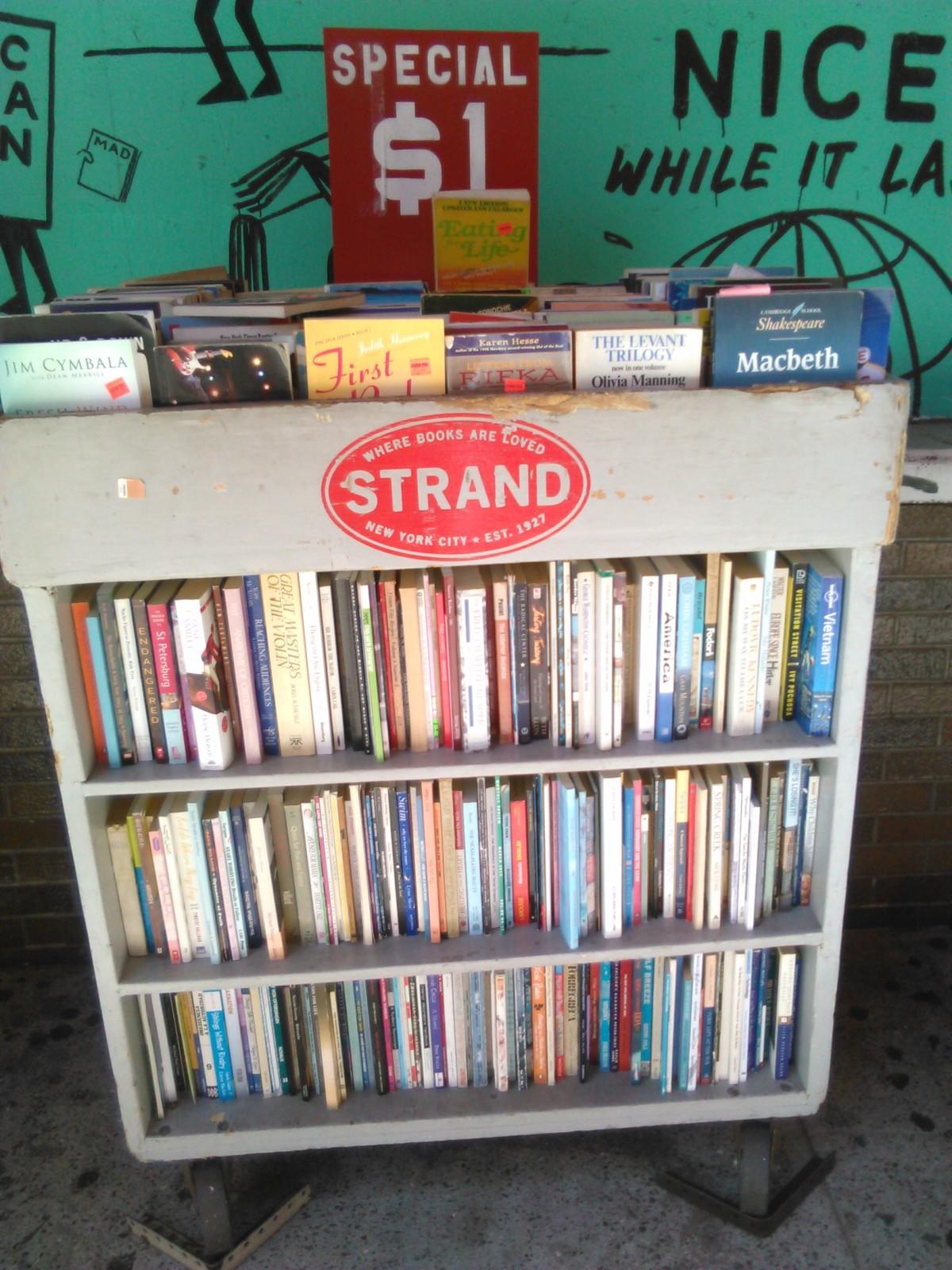 I poteri curativi di 30 chilometri di libri, la New York University, il pianoforte a Washington Square Park e tantoaltro