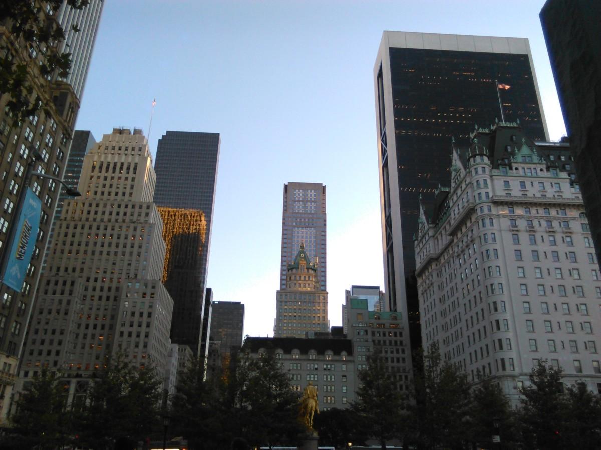 La Scacchiera tagliata, la New York gratuita e bellissima, Briant park e altrigioielli