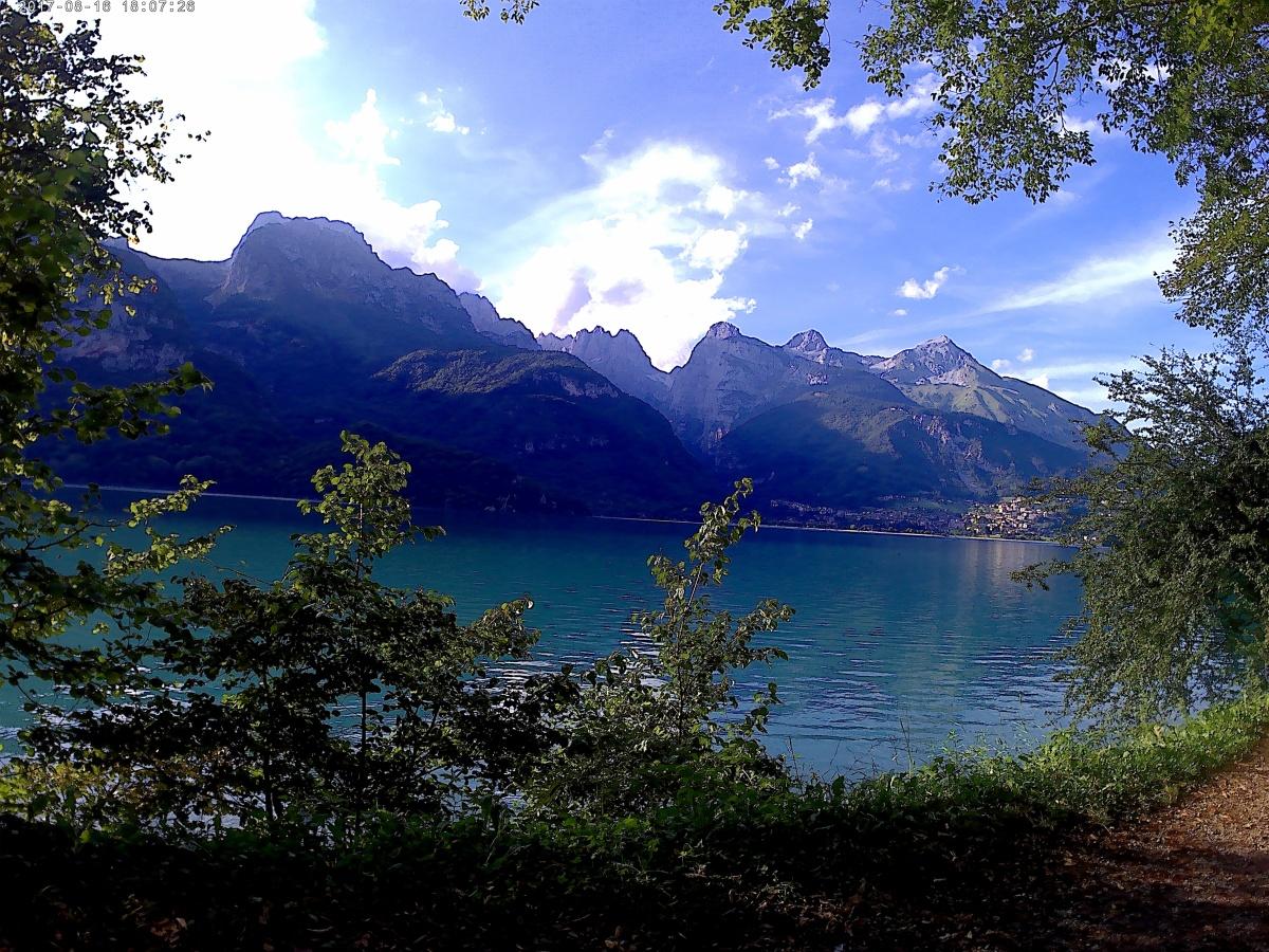 Il Lago di Molveno, specchio delcielo