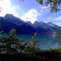 Il Lago di Molveno, specchio del cielo